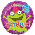 Frog Eye Popper Foil Balloon 18&quot; / 46cm